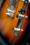 Electric guitar. Handmade custom build electric guitar Stock Photography