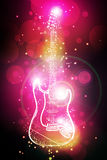 Electric guitar Royalty Free Stock Photography