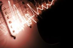 electric guitar Στοκ Φωτογραφίες