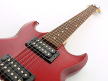 Electric guitar. Simply picture of an electric guitar stock photography
