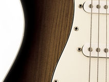 Electric Guitar. In white background Stock Image