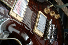 Electric guitar. Detail Royalty Free Stock Photo
