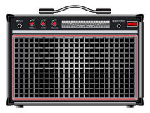 Electric guitar amplifier Stock Photo