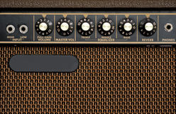 Electric guitar amplifier Stock Photography