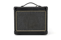 Electric guitar amplifier,music speaker Royalty Free Stock Photo