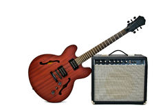 Free Electric Guitar And Amplifier Stock Photography - 20011882