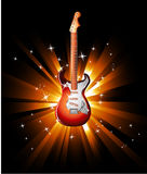 Electric Guitar Background Royalty Free Stock Images