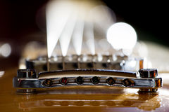 Electric guitar background Royalty Free Stock Photos