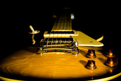 Electric guitar background Stock Image