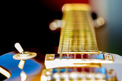 Electric guitar  background Stock Photo