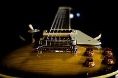 Electric guitar background Royalty Free Stock Image