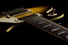 Electric guitar background Stock Images