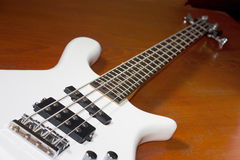 Electric guitar bass Stock Images