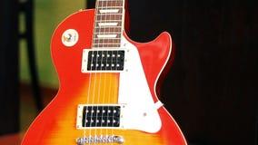 Electric guitar stock video