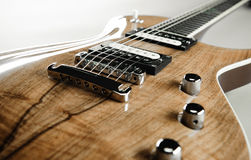 Electric guitar close-up Royalty Free Stock Image