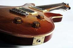 Electric guitar close up Stock Photo