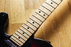 Electric guitar close up Royalty Free Stock Image