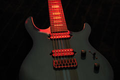 Electric Guitar closeup Stock Image