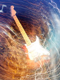 Electric guitar concept Stock Photo