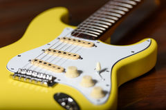Electric guitar custom Fender Royalty Free Stock Image