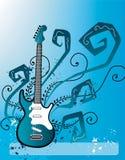 Electric Guitar Design Stock Image