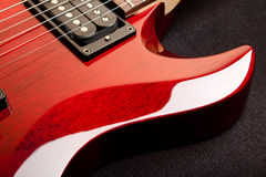 Electric Guitar Detail Stock Images