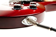 Electric Guitar Detail Royalty Free Stock Images