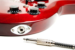 Electric Guitar Detail Royalty Free Stock Image