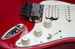Electric guitar detail Royalty Free Stock Photo