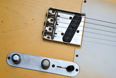 Electric guitar detail Stock Image