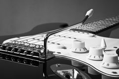Electric guitar detail Royalty Free Stock Photos