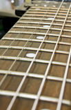 Electric Guitar Fretboard Royalty Free Stock Image