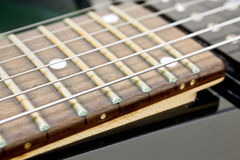 Electric Guitar Fretboard Stock Images