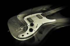 Electric Guitar Ghost stock photography