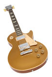 Electric Guitar (Gibson Les Paul Gold Top) Royalty Free Stock Photography