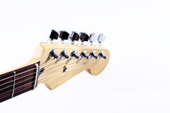 Electric Guitar headstock Stock Image