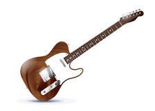 Electric guitar icon Royalty Free Stock Photos