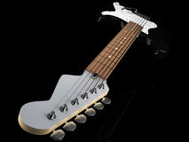 Electric Guitar. Image of Electric Guitar. 3D illustration Stock Photos
