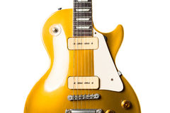 Electric guitar instrument Stock Images
