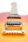 Electric guitar Les Paul sty Stock Photo