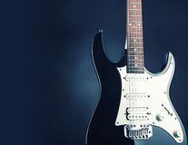 Electric guitar Stock Image