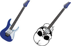 Electric guitar musical instrument Royalty Free Stock Image