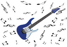 Electric guitar musical instrument Stock Photo