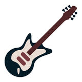 Electric guitar musical instrument Royalty Free Stock Photography