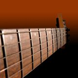 Electric Guitar Neck stock photo