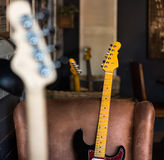 Electric Guitar Neck Still Life Royalty Free Stock Photo