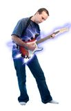 Electric Guitar Performer Royalty Free Stock Images