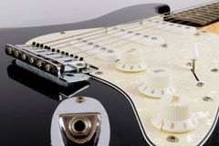 Electric Guitar`s Tone Dials Royalty Free Stock Image