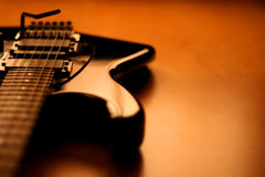Electric guitar - serie Stock Image