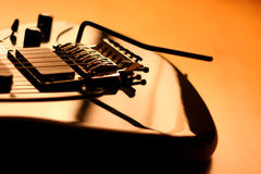 Electric guitar - serie (beautiful details) Royalty Free Stock Images